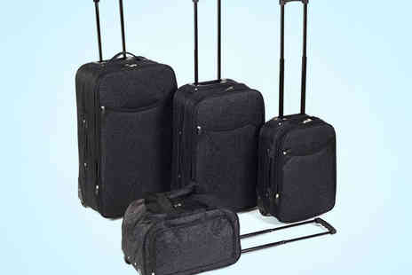 Chums - Four Piece Damask Luggage Set - Save 50%