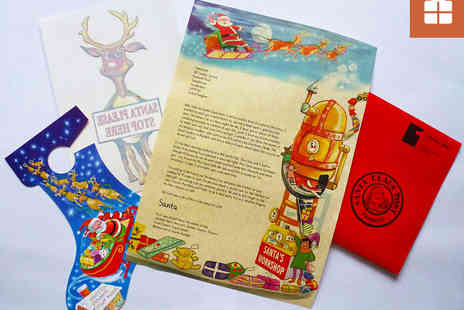Santa Claus Post - Voucher for Two or Four Personalised Letters from Santa - Save 54%