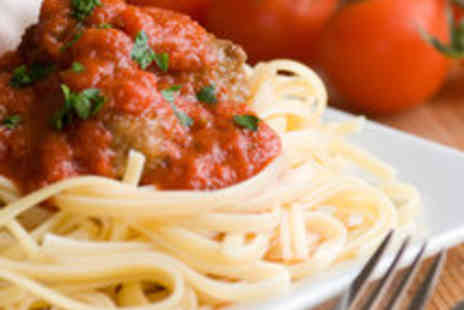 Spaghetti Johns - Two Course Italian Meal with Prosecco for Two People - Save 54%