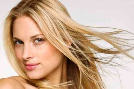 Cutting Crew - Brazilian Keratin Treatment - Save 51%