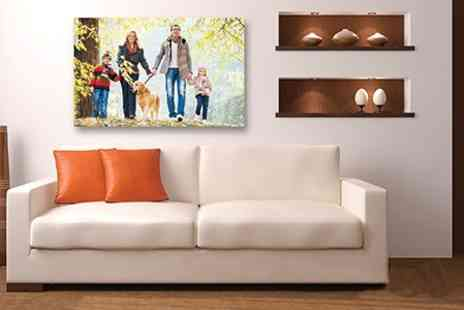 Dreambooks - Personalised Fine Art Canvas in Choice of Size - Save 78%
