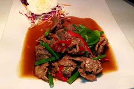 Orchid Thai -  Two Course Meal for two - Save 58%
