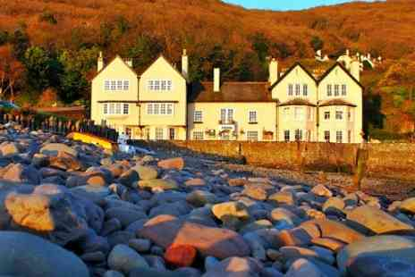 Millers at The Anchor - In Exmoor Coast One Nights For Two With Breakfast and Welcome Drink - Save 54%