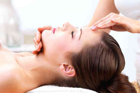 Powder Beauty - Back Neck and Shoulder Massage with Manicure - Save 60%