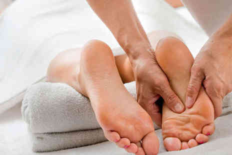 Skin and Foot Health Clinic - Hour Long Massage from Sports or Aromatherapy or Reflexology Session - Save 60%