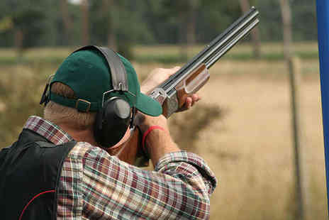 Southdown Gun Club - Clay Pigeon Shooting for Two People with a total of 80 Clays - Save 76%