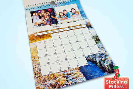 u.PhotoBooks - Personalised A4 Calendar - Save 61%