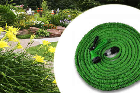 Assist World - Tangled hoses with this practical Expanding Garden Hose - Save 68%