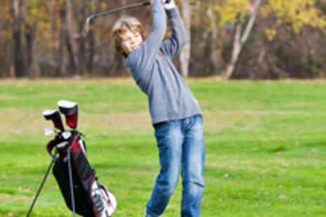 Steve Baxter Golf - Two Junior Golf Lessons with a PGA Professional for One Person - Save 62%