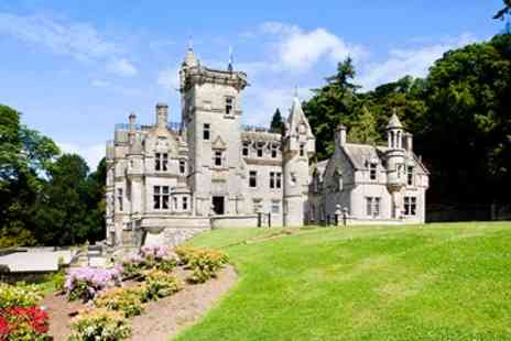 Kinnettles Castle - Five Star Scottish Castle Escape with Dinner - Save 40%
