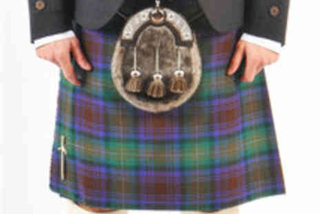 Nicolson Kiltmakers - Voucher for Formal Scottish Dress and Kilt Hire - Save 53%
