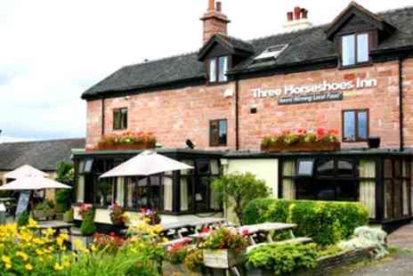 The Three Horseshoes Inn - Peak District National Park Stay with Dinner - Save 46%