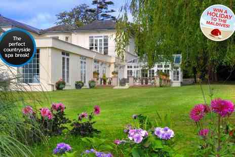 Oriel Country Hotel and Spa - One night Four star North Wales spa break  - Save 55%