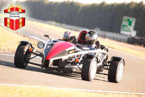 Ultimate Drive Days - Nissan GT R vs Ariel Atom experience for 1 person - Save 58%