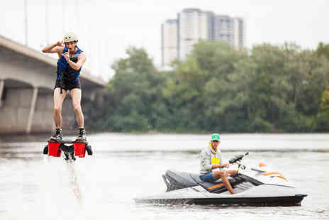 Flyboard Fun - 30 minute flyboarding experience for 1 person - Save 27%