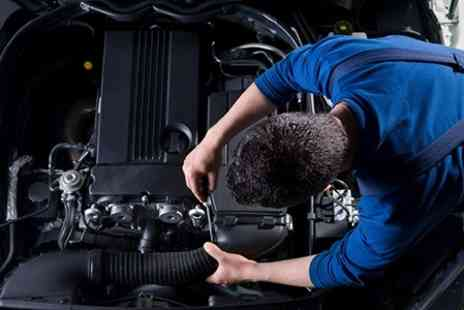 DPR Motors - Service With Oil and Filter Change Plus MOT - Save 40%