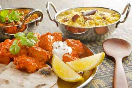 Landmark Indian Restaurant - Two Course Indian Meal For Two - Save 51%