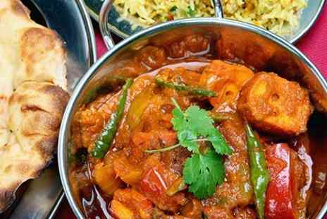 Masala Derby - Two Course Indian Meal With Wine and Rice or Naan - Save 66%