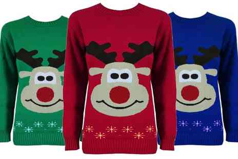 Miss Chief Clothing - Choice of Christmas Jumpers - Save 70%