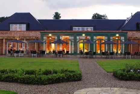 Walton Hotel - Deluxe Warwickshire Stay including Meals & Wine - Save 49%