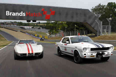 Classic American Muscle - Six mile Mustang experience with Classic American Muscle Brands Hatch or Goodwood - Save 34%