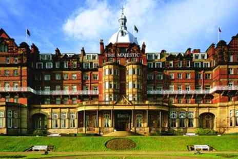 The Majestic Hotel - Deluxe Harrogate Escape With Meals & Wine - Save 49%