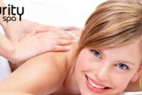 Purity Spa - Escape Ritual With Five Treatments Including Massage and Facial for One - Save 77%