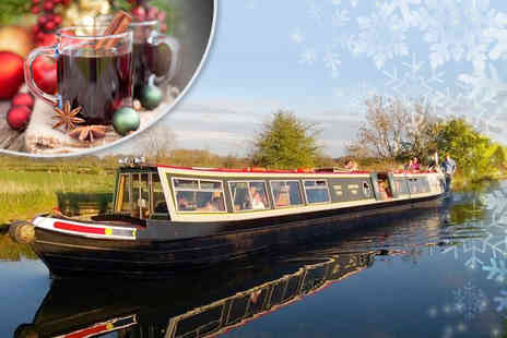 M.Bar.K -  Christmas canal cruise with Santa for 1 adult & 1 child - Save 58%