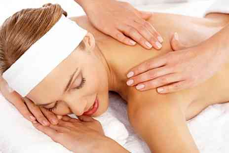 Meridian Beauty - Massage and Facial Plus Manicure or Eyelash Tint - Save 34%