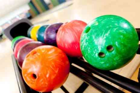 Strike Ten Bowl - Bowling With Drinks For Six - Save 67%