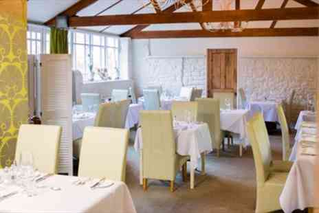 Piedaniels - Highly Praised French Dinner & Bubbly for Two - Save 41%