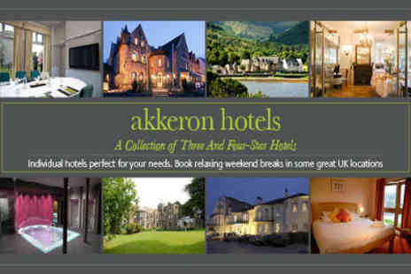Akkeron Hotels - Two nights bed and breakfast for two - Save 69%