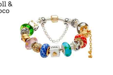 Kuka Bella - Love Lock Charm Bracelet - Save 70%