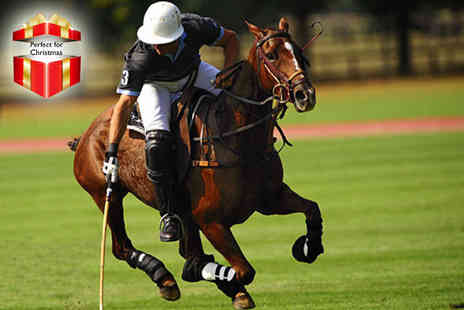 Leadenham Polo Club - Two day luxury polo retreat including coaching & accommodation - Save 55%