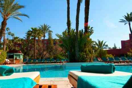 Hotel Kenzi Farah - In Marrakech One Night For Two With Breakfast Dinner and Cocktail - Save 80%