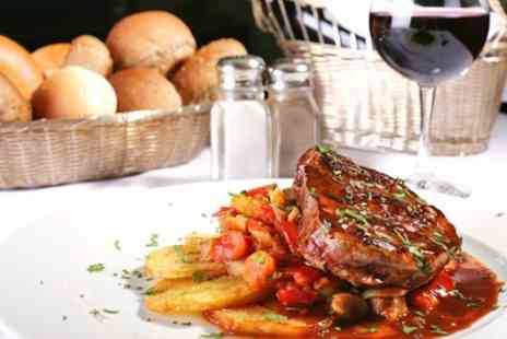 The Hollybush Inn - Steak Meal With Wine For Two - Save 54%