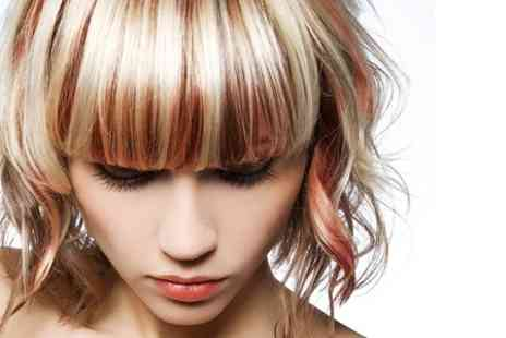 Designer Hair and Beauty - Cut Blow Dry Conditioning and Highlights - Save 35%