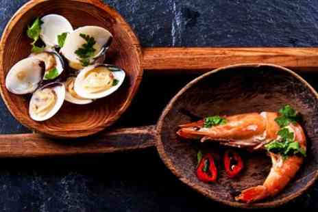 Rixs Bombay Cafe and Bar - Indian Seafood Tapas With Cocktails For Two - Save 24%