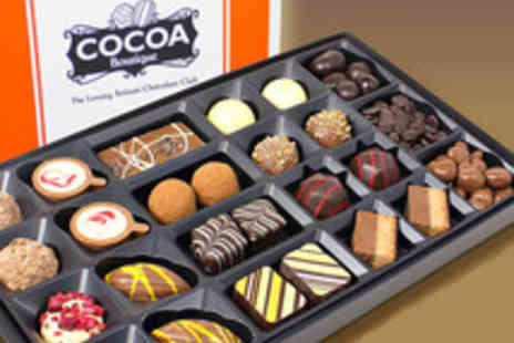 Cocoa Boutique - Voucher for a Luxury Artisan Chocolate Gift Box - Save 57%