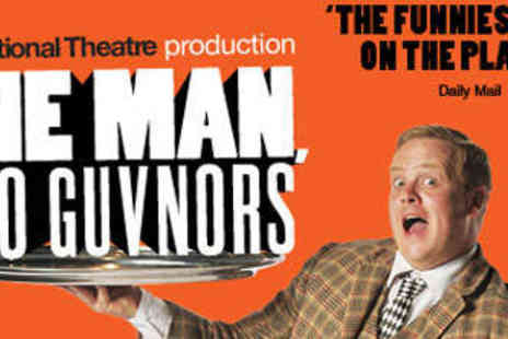 One Man Two Guvnors - Top Price Ticket to See One Man Two Guvnors - Save 50%