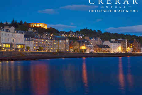Oban Bay Hotel - Stunning Views Over the Oban Bay - Save 76%