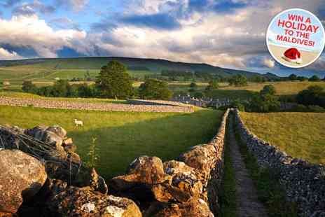 Old Dairy Farm - In Yorkshire Dales escape to the tranquil 5star Old Dairy Farm indulge in tea or coffee and cake on arriva - Save 44%