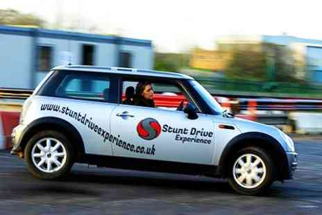 Stunt Drive Experience - Young Drivers Experience For Up to Three People - Save 53%