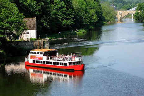 Prince Bishop River Cruiser - Hour Long Santa River Boat Cruise for One Adult - Save 50%