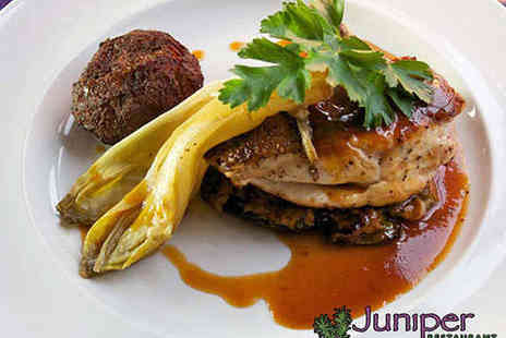 Juniper Restaurant - Six Course Tasting Menu for Two - Save 50%