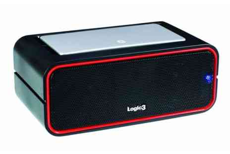 consumerelectricals - Logic3 i Station Bluetooth2 Portable Speaker - Save 58%