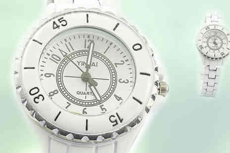 Avatora international - Gorgeous classic white designer watch - Save 93%