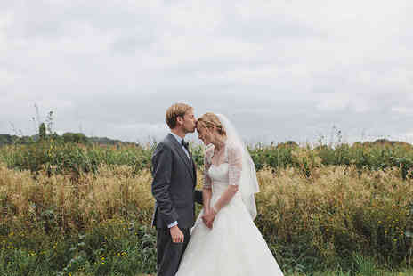 Nicola Milns Photography - Seven hours of wedding photography including 5 prints  - Save 54%