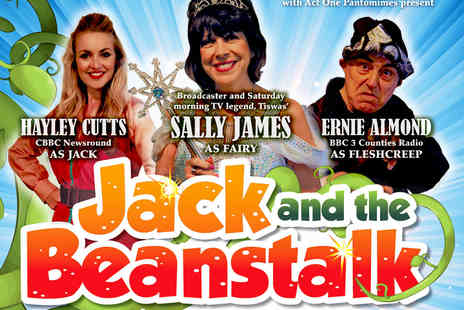 The Eric Morecambe Theatre  - Tickets to Jack and the Beanstalk  - Save 41%