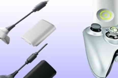 Bluebud.co.uk - An Xbox 360 play and charge kit in black or white - Save 70%